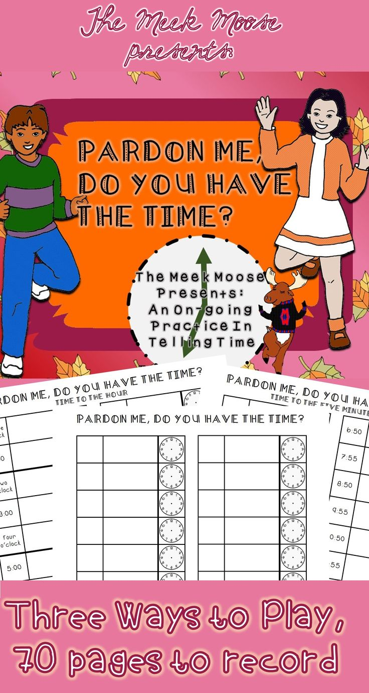 #time #clocks #math #tothefiveminutes This set of printables assist children in practicing reading analog clocks to the five minutes.  Tons of variety and ways to use- check out the preview to learn more!