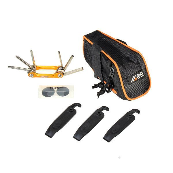 Bike Kit Bag Multifunctional Folding Tool Mountain Bike Repair Tools Bicycle Repair Kit #bikerepairkit