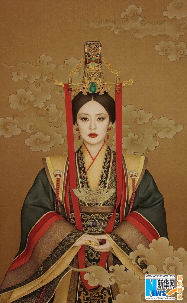 "Actress Sun Li dresses as ""Miyue""   http://www.chinaentertainmentnews.com/2016/01/actress-sun-li-dresses-as-miyue-to-show.html"