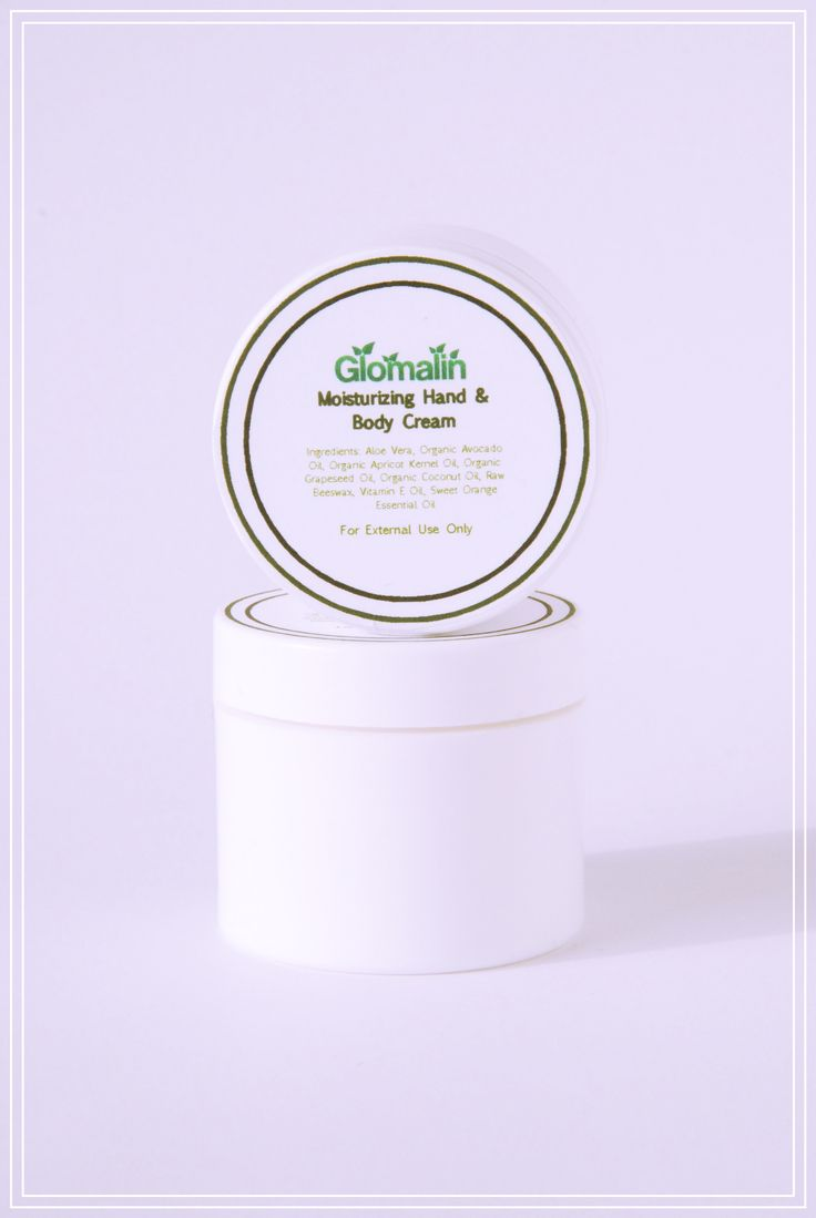 Glomalin Moisturing Hand & Body Cream made from certified organic ingredients, shop at www.glomalin.ca