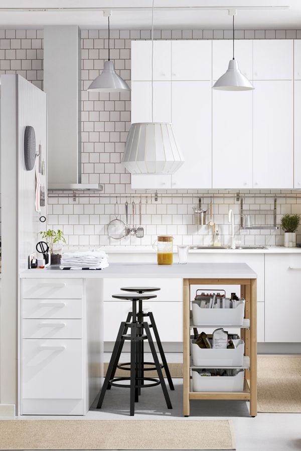 Les 342 meilleures images du tableau kitchens sur for Kitchenette ikea prix