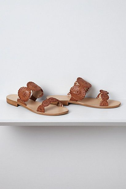 Banded Halo Jack Rodgers Sandals. you will be mine very soon.
