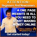 Learn with the No1 internet marketer (voted by IM Report card 2010/11/12/13)   $1 for a 7 day trial... It's a No-Brainer!