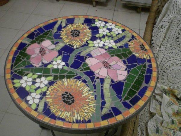 Мозаика на дачном участке: 28 оригинальных идей для декора - Ярмарка Мастеров - ручная работа, handmade