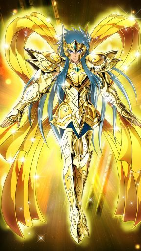 Aquarius Camus(God Cloth)-Saint Seiya-Zodiac Brave by FernanDohko