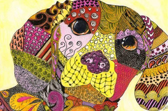 Zentangle, o desenho que nos ajuda meditar O Zentangle é um método de desenho que utiliza, de maneira repetitiva, todas as formas geométricas e curvilíneas. O objetivo é fomentar a calma e a meditação através do traço de padrões estruturados que formam belas imagens. Sua técnica é fácil de aprender, além de ser relaxante e divertida...