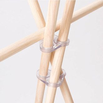 arne | Rakuten Global Market: Wardrobe hangers Paul wooden Scandinavian coat hanger coat stand wooden Scandinavian coat hanger put hanger rack hanger pole coat rack coat rack clothing rack clothes coat storage natural simple whitewash