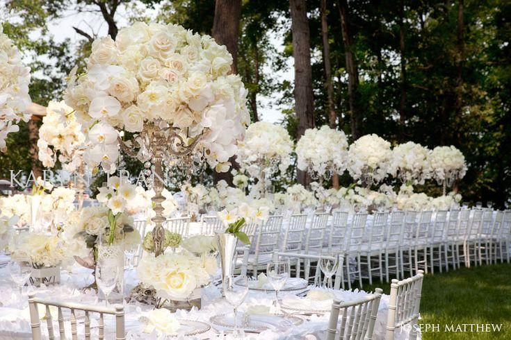 Awesome Silver White Wedding Decorations | Signature Wedding Magazine Featuring  Karen Tran: Wedding Magazine In ... | My Style | Pinterest | Silver  Candelabra, ...