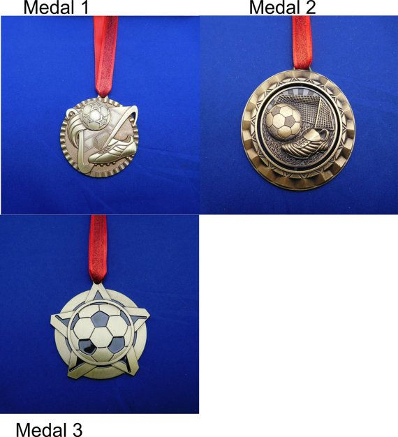 Soccer Ornament or for Coach Gift Gold  FREE by GiftWorks on Etsy