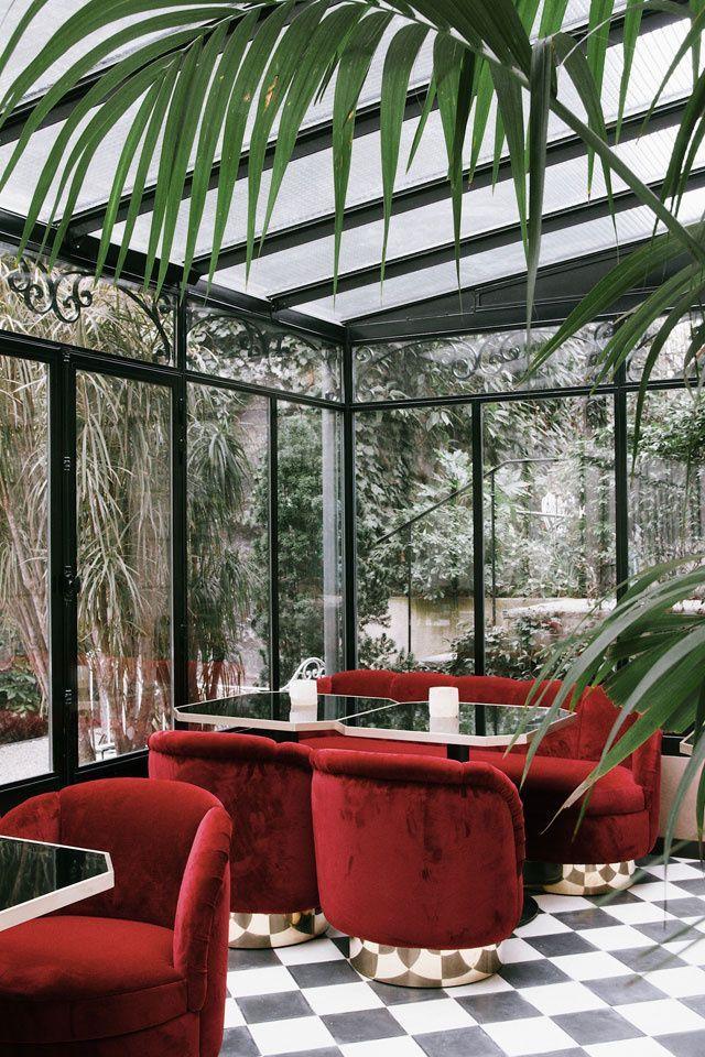 Hospitality Design. Restaurant Design. Restaurant Furniture. #restaurantdesign #hospitality #restaurantinteriordesign See more inspirations at: https://www.brabbu.com/en/inspiration-and-ideas/category/world-travel/hotel