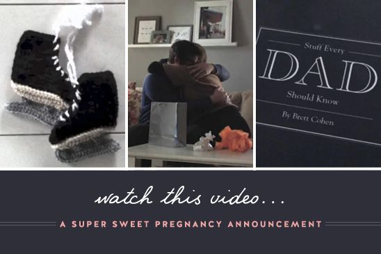 Sweet Pregancy Announcement Video .. this is by far the sweetest thing I have ever seen!!