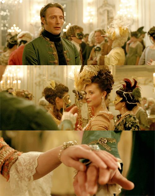 A Royal Affair 2012; Love this movie, Mads Mikkelsen be still my heart.