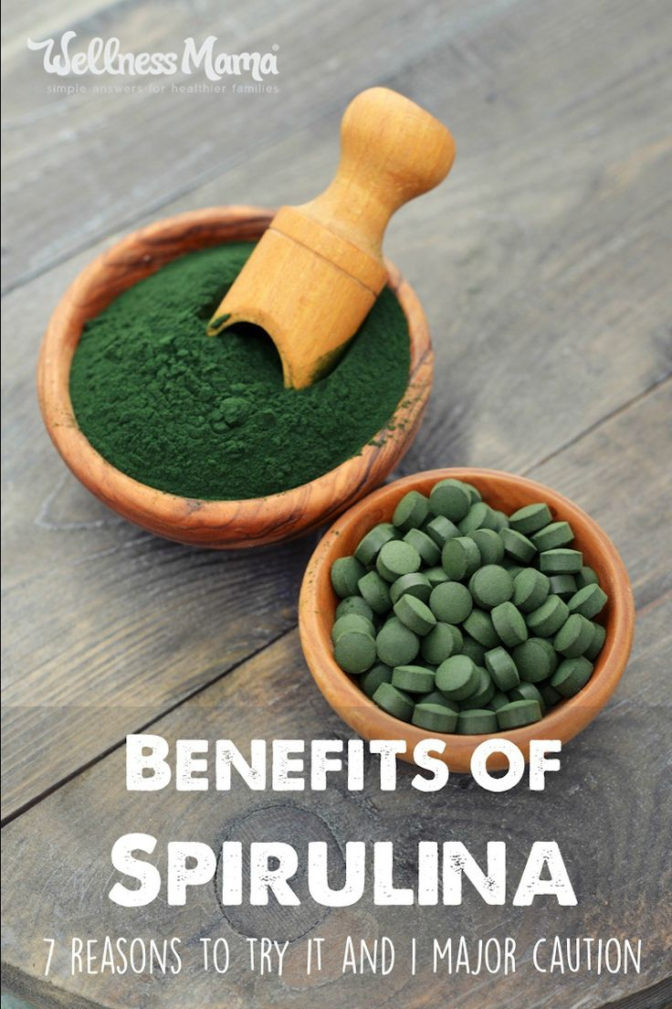 Spirulina is a superfood plant source of protein, minerals, vitamins, and antioxidants. Benefits include fighting anemia, good for blood and heart and more!