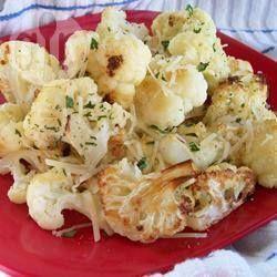 Roasted garlic cauliflower @ allrecipes.co.uk