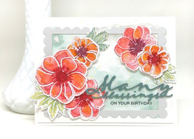 Papertrey Ink Stamp-A-Faire - Many Blessings