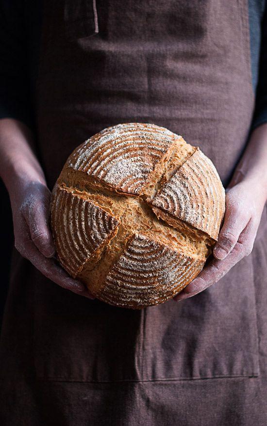 Receta paso a paso del pan rústico (pain de campagne) - Megasilvita