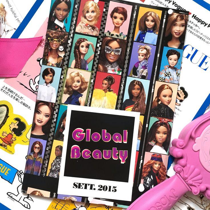 Barbie global style, flatlay by michelle othman