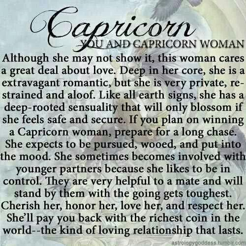 Capricorn Girl Quotes. QuotesGram