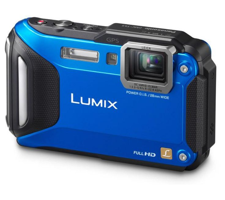 PANASONIC  Lumix DMC-FT5 Tough Compact Camera - Blue, Blue Price: £ 199.00 Built to withstand the elements, the rugged blue Panasonic Lumix DMC-FT5 Waterproof Advanced Compact Camera is designed to give great results in all weather conditions. Waterproof camera and more Whether you want a waterproof camera for high-res diving photos, a freezeproof camera to video your adventures on the piste,...