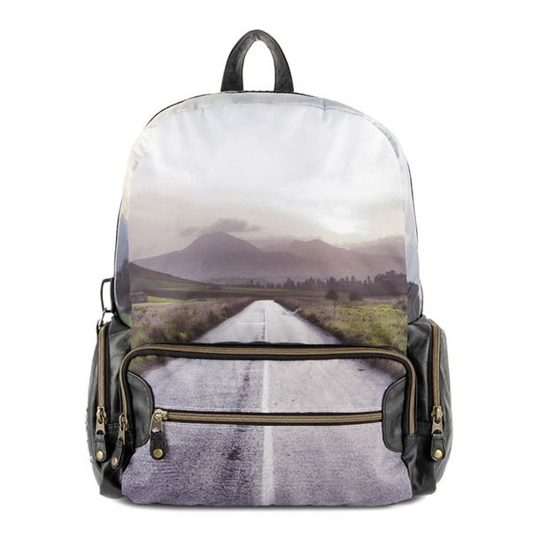Road Trip Backpack byMojo // oh. wow. best backpack ever. one for the open road. #productdesign