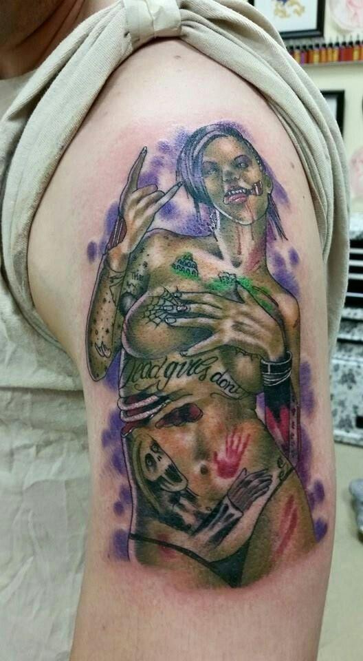 Zombie bonnie rotten tattoo