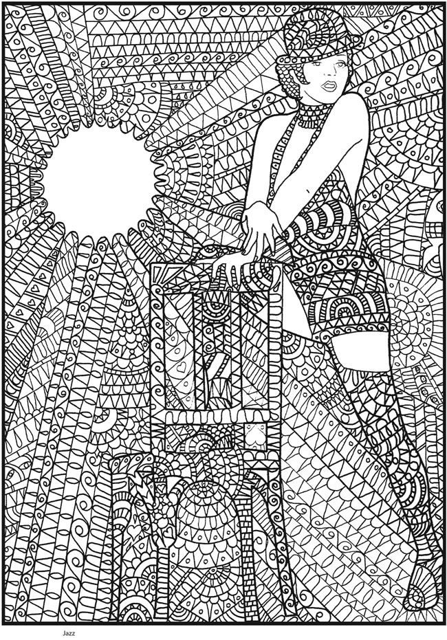 Coloring pages to print Dance