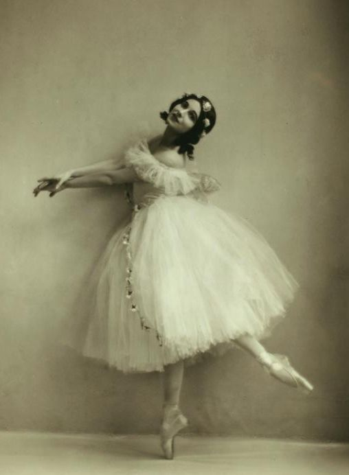 Ruth Page, costumed as a sylph, ca. 1920s