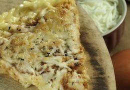 I just made Macaroni Pizza from recipecenter.stopandshop.com on supercook.com!