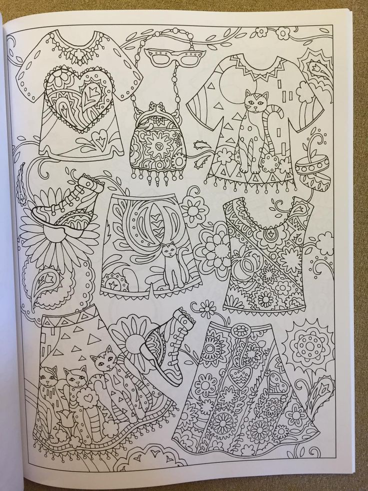 Amazon Fanciful Fashions Coloring Book 9780983740445 Marjorie Sarnat Books