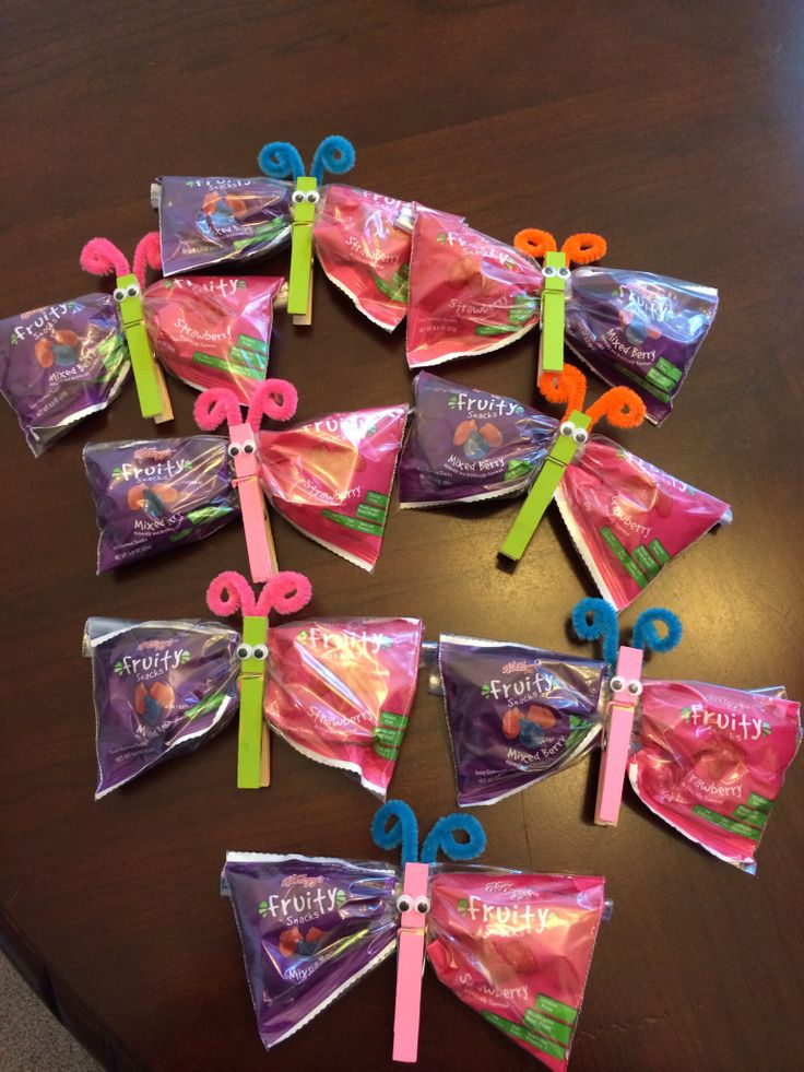 Classroom Snack Ideas : Butterfly snacks for my daughters pre k class school