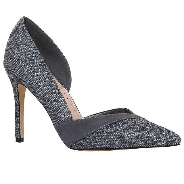 BuyMiss KG Cai 2 Occasion Asymmetric Court Shoes, Metal Comb, 3 Online at johnlewis.com