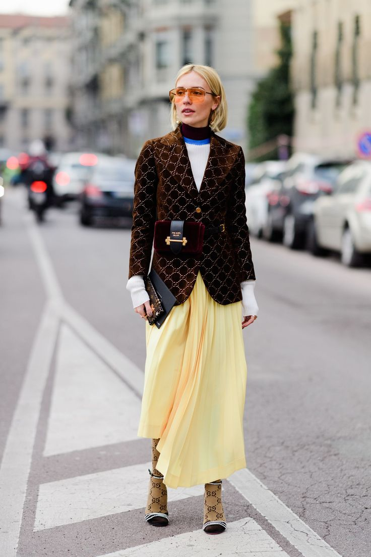 The Best Street Style From Milan Fashion Week Fall 2018 ...