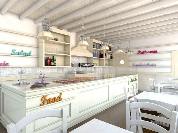 Progettazione Chiosco Bar, Lega Navale Barletta