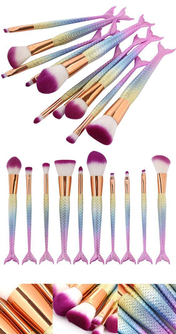 Colorful Maange 10 Pcs Ombre Rainbow Mermaid Makeup: 25+ Best Ideas About Mermaid Makeup On Pinterest