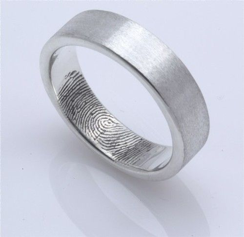 Barb K, check out this website!: Wedding Ring, Wedding Ideas, Fingerprints, Fingerprint Inside, Dream Wedding, Rings, Wedding Bands, Bride