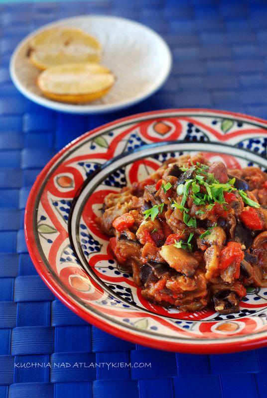 Zaalouk czyli moja ulubiona marokańska sałatka