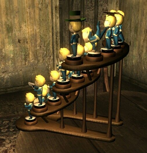 Stand for Fallout 3 bobbleheads