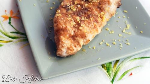 pollo limone zucchero di canna
