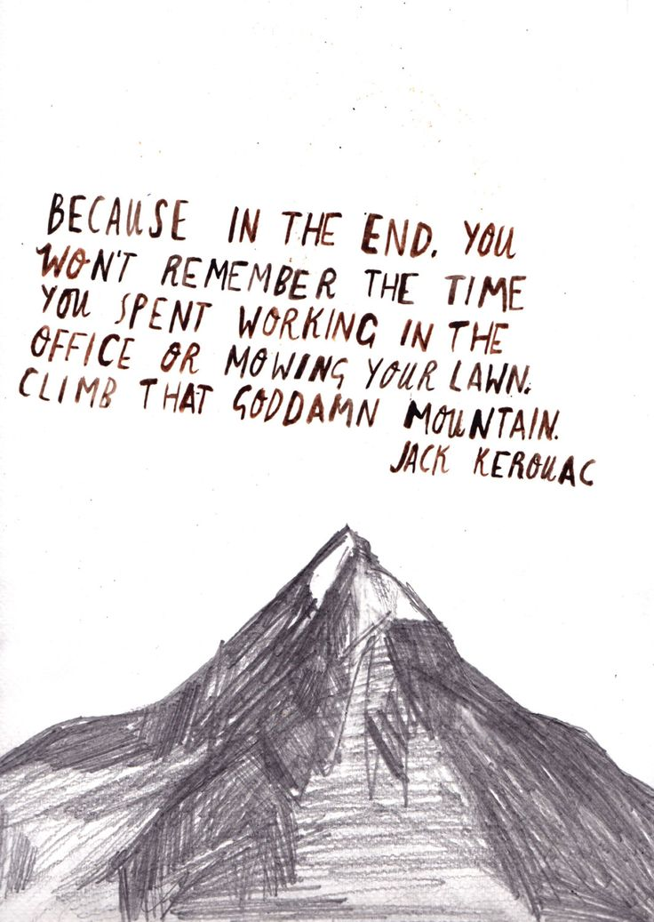 Jack Kerourac - true that!