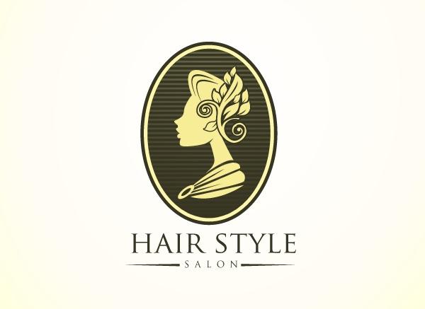 Hair Style Saloon Logo Design