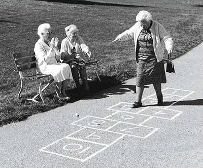 We will never be too old to play.