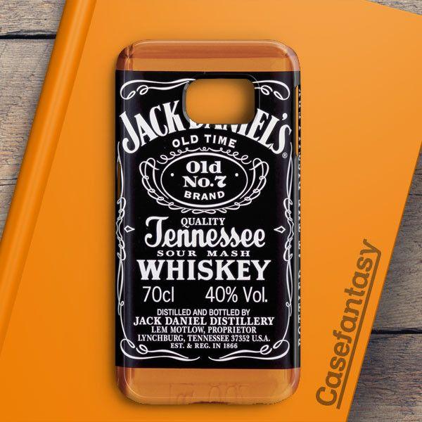 Jack Daniels Black Label Samsung Galaxy S6 Edge Case | casefantasy