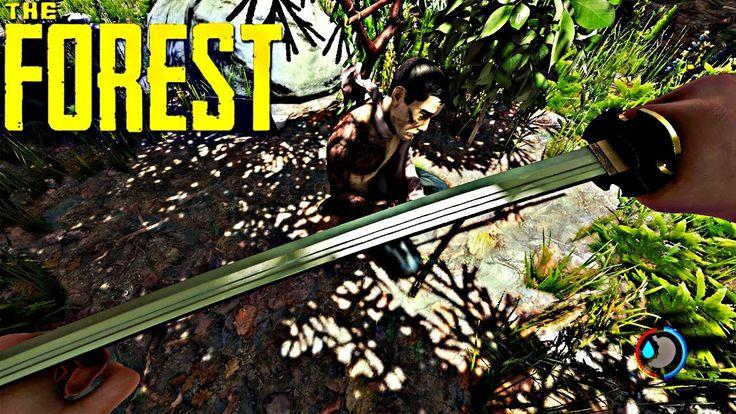 KATANAYI BULUYORUZ VE MAĞARAYA GİRİYORUZ - THE FOREST #10