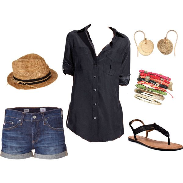 """""""Relaxed Chic"""" by sarahtcole on Polyvore"""