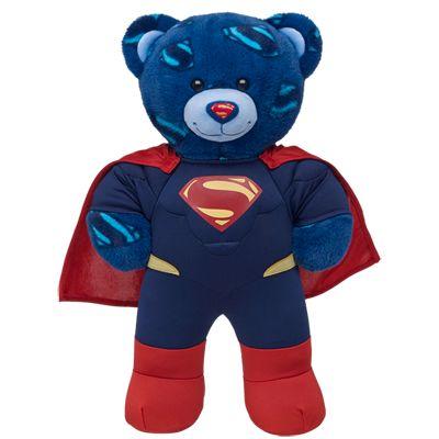Superman Bear In Superman Costume Build A Bear Workshop