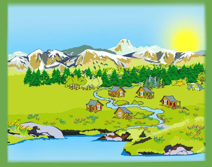 ▷▷ Camping des Gaves *** - Location cabane en bois - chalet - mobil-home à Laruns Pyrénées Atlantiques Vallée d'Ossau - Accueil