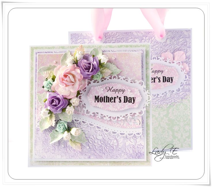Scrap Art by Lady E: Mother's Day Card & Bag :)