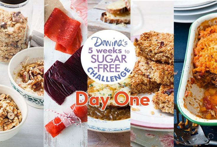 SUGAR, GO DO ONE! Get your first day's Sugar-Free meal plan from #5WeeksSugarFree here: http://po.st/SFDayOne