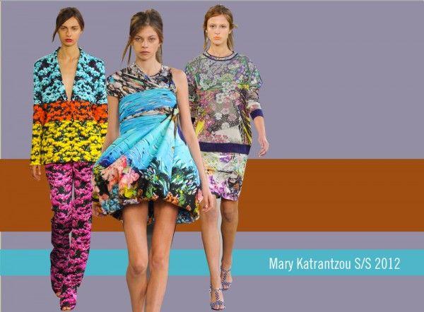 Mary Katrantzou S/S 2012