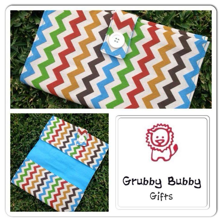 Handmade by Grubby Bubby Gifts  Nappy Purse